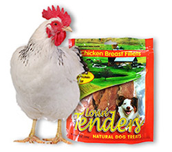 Rawhide Chicken Treats