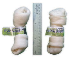 5.5 to 6 in. Natural Rawhide Bones