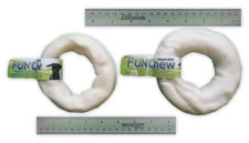 7 to 7.5 in. Natural Rawhide Donut