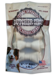 Butcher Shop 6 - 7 in Rawhide Bones 4pk