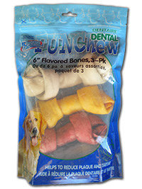 Dental Rawhide Basted Bones
