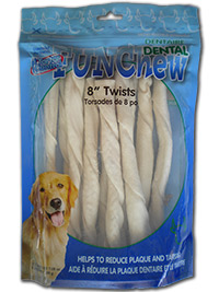 Dental Rawhide Twists