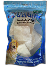 Dental Rawhide Chips